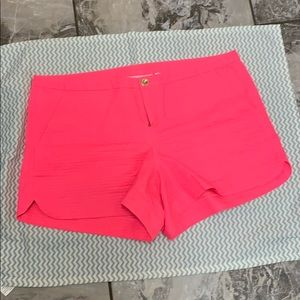 """Pink 3 1/2"""" inseam shorts"""